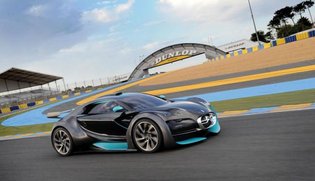 Citroen Survolt Amazing Race Car Let S Go Green Pinterest