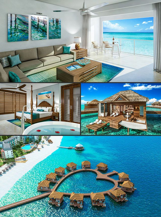 Here is an romantic all inclusive , honeymoon destinations