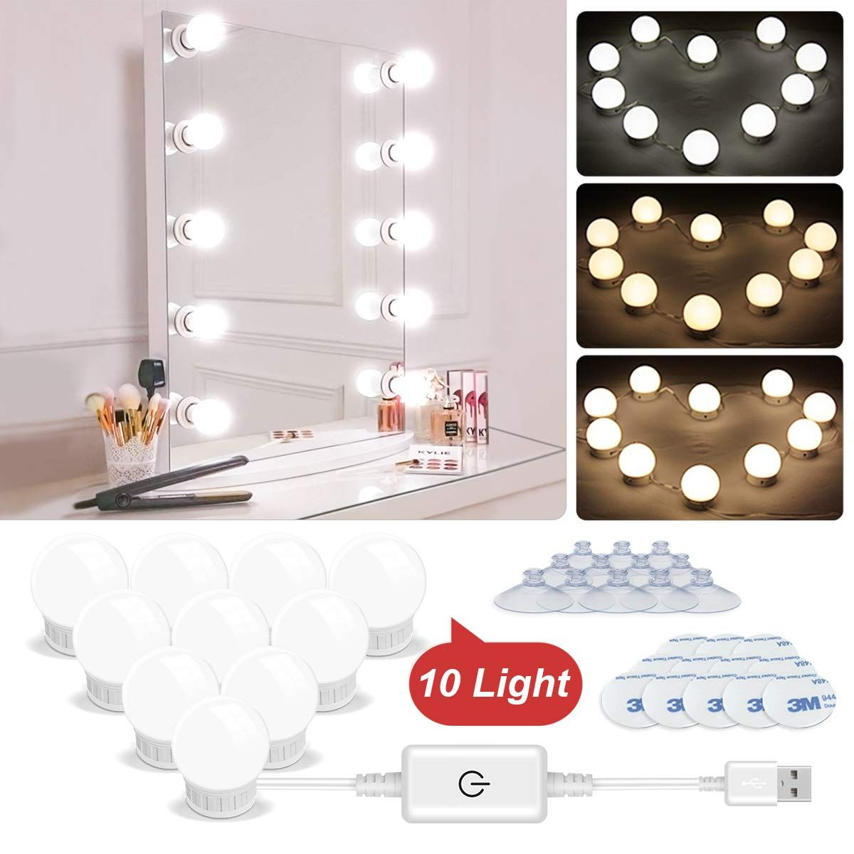 Led Vanity Lights Hollywood St Led Vanity Lights Vanity Mirror Led Vanity