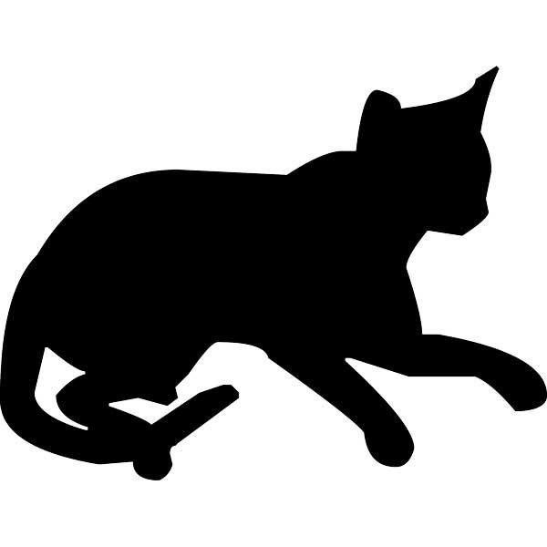 Siluetas de gatos para imprimir imagui gatitos - Hacer vinilos personalizados ...