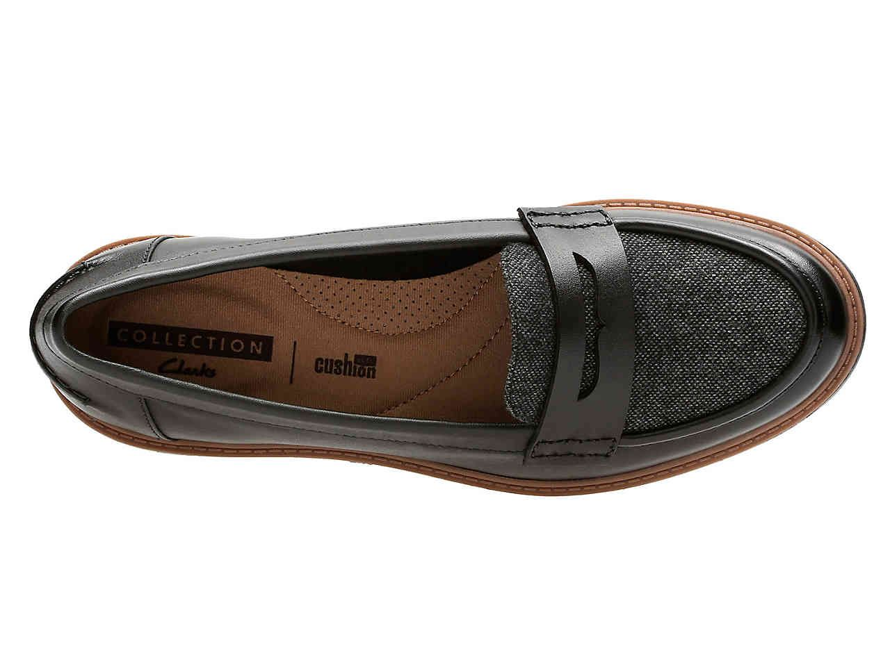Clarks Eletta Raisie Women's ShoesDsw Loafer Plate Fashion Yfbyv7g6