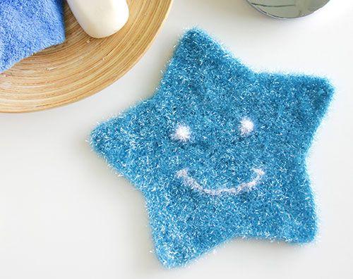 Produkt Tipp Schwammgarn Funny Scrub Fur Kuche Und Bad Buttinette Blog Avec Images Accessoires Au Crochet Bricolages Au Crochet Tricot Et Crochet