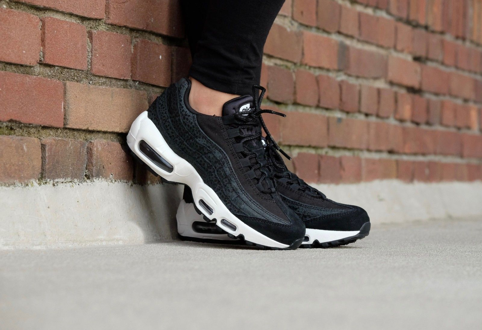 nike air max 95 premium black summit white