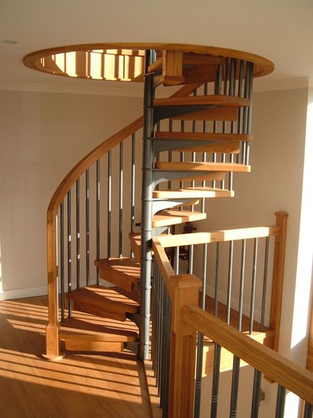 Best Cast Iron Spiral Stairs And Catwalks Spiral Stair Has Knotted Wrought Iron Balusters 400 x 300