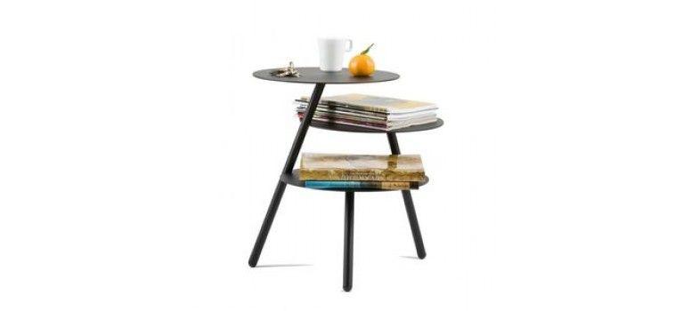Table Agathe, Noire © Hartodesign.com