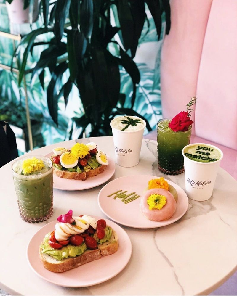 Holy Matcha in San Diego Serves PicturePerfect Vegan and