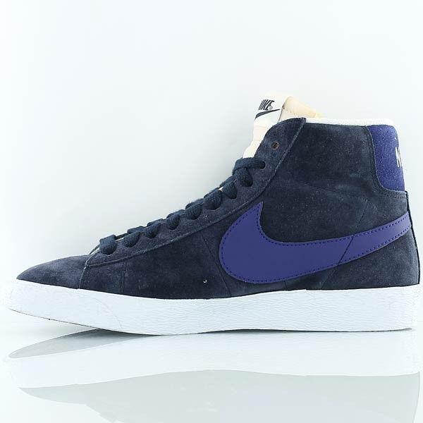 Chaussure pour Homme Nike obsidienne BLAZER MID SUEDE VINTAGE obsidienne Nike bleu 3e115d
