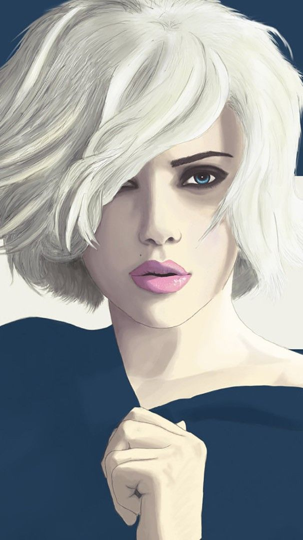 Scarlett Johansson Art IPhone Wallpaper Girl iphone