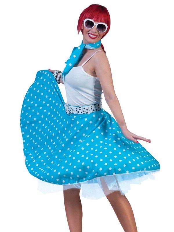 Blue Rock n  Roll skirt. samuel l jackson fancy dress 75621f60e33fc