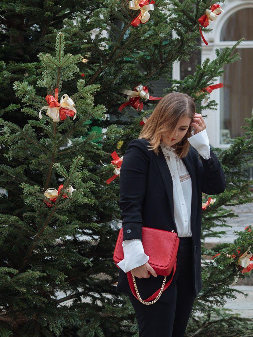 how to: das passende outfit für die weihnachtsfeier finden