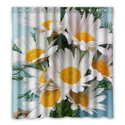 Custom Daisy Shower Curtain Polyester 167cm X 183cm Bitt Https