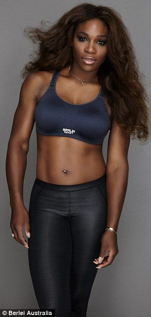 166d65c7283 Sport star-turned-lingerie model! Serena models a range of bras in a photo  shoot for the brand while her television ad will be released in January