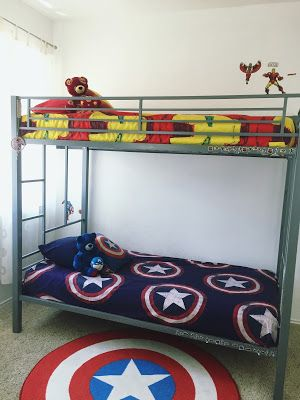 Charmant Avengers Themed Kidu0027s Bedroom Decor (With DIY Touches). Click Or Visit  FabEveryday.com To See Details On The DIY Projects And Links To Purchase  The Iron Man ...