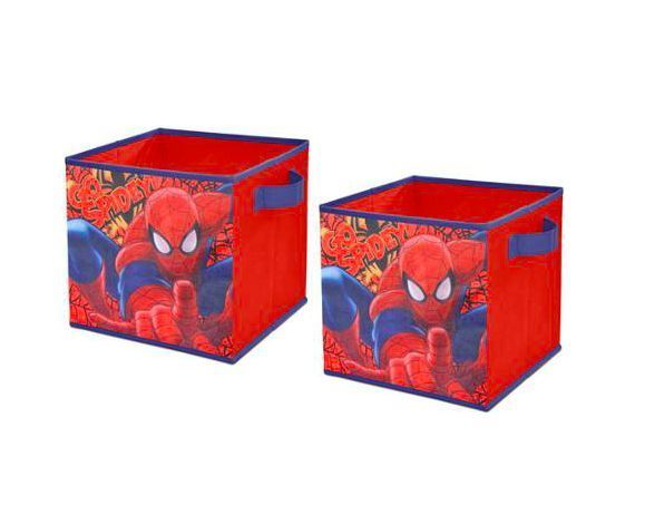 Toy Storage Bins Kids Organizer Bedroom Furniture Box Bin Room New Spiderman Bedroom Furniture Design Ideas