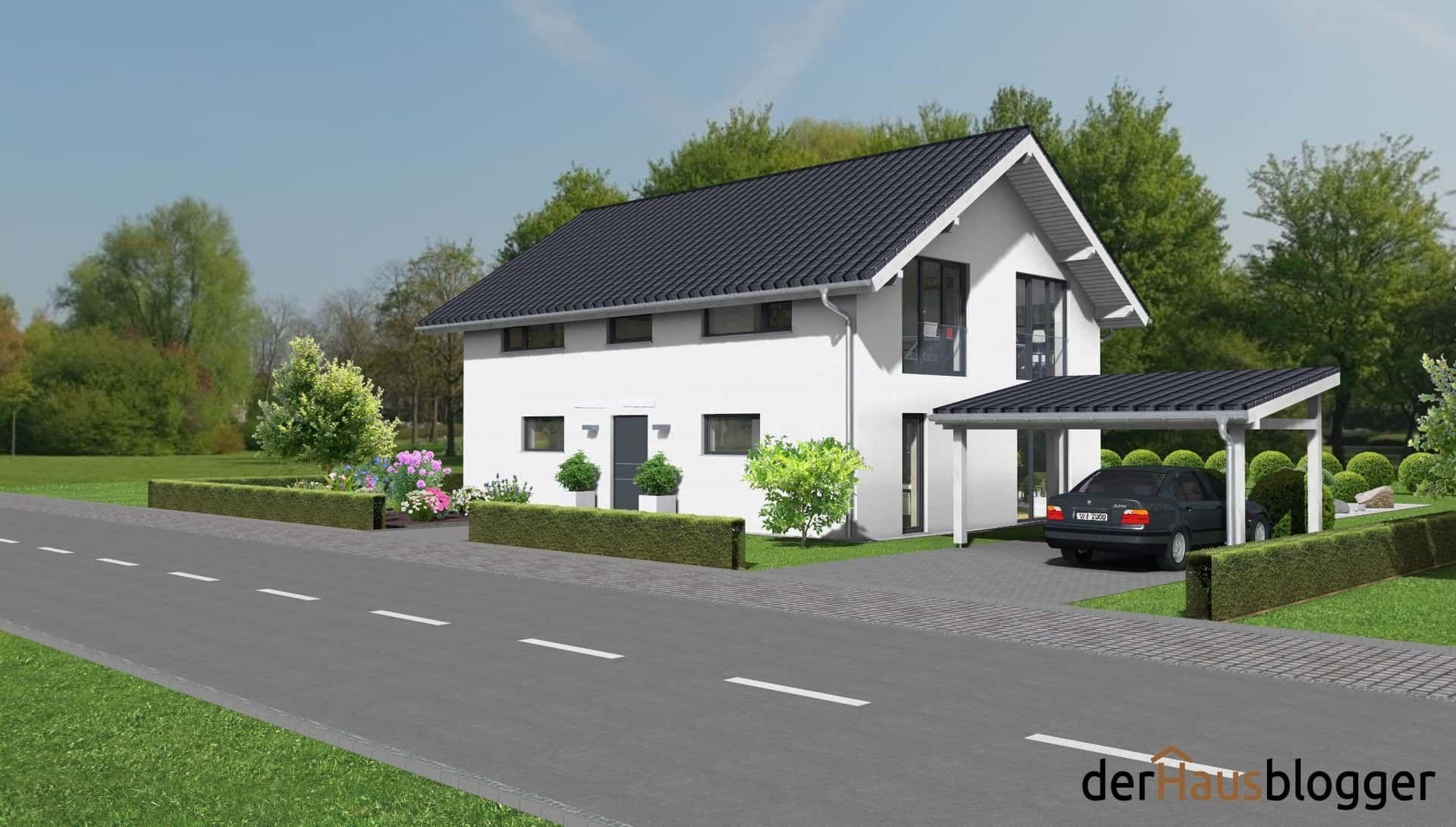 Satteldachhaus 158,5m² | der Hausblogger   – Grundriss einfamilienhaus