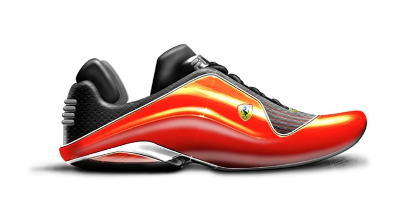 Motorsports footwear work for Fila Concepts and products for