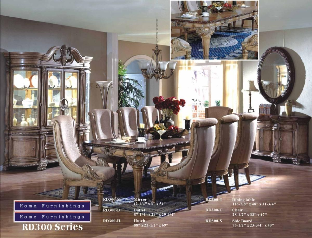 Mfrd300  Riley White Wash Solid Wood 9 Piece Formal Dining Room Best Dining Room Empire Inspiration Design