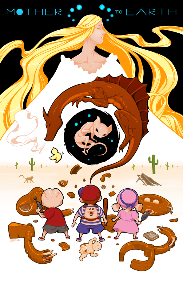 EarthBound Beginnings - Mother to Earth by Kaigetsudo | The