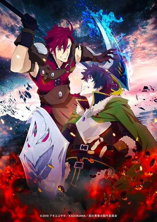 El anime Tate no Yuusha no Nariagari, revela Visual Art + video promocional