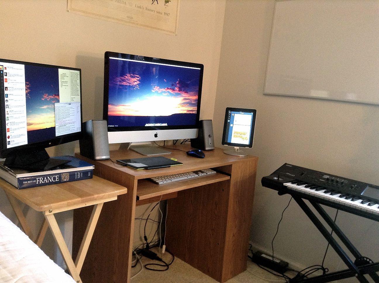 computer desk for imac