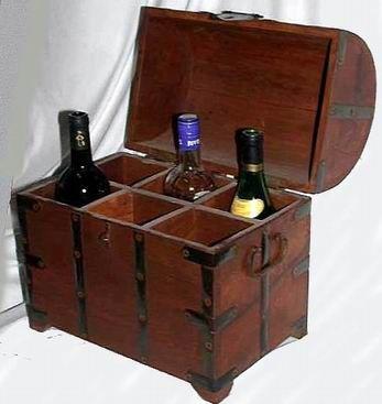 Botelleros muebles botelleros cajas de madera estuches - Botellero de madera para vino ...
