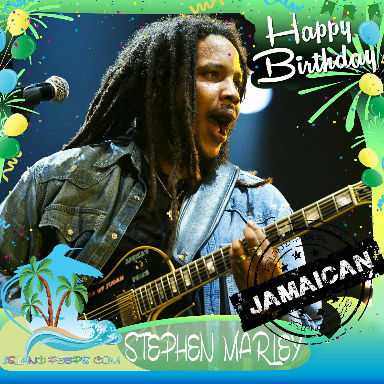 Happy Birthday Stephen Marley American Reggae Recording Artist Producer Of Jamaican Descent Today We Celebrate You Stephen Marley Marley Jamaicans