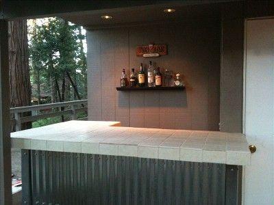 outdoor bar backyard - Google Search