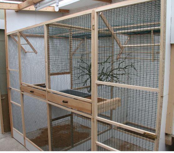 30da38c34 indoor bird aviary designs | Aviaries & Exhibits | Bird aviary ...