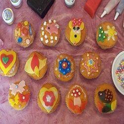Cupcakes Versieren Op Een Kinderfeestje Leuk Traktaties Pinterest