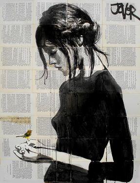 "Saatchi Art Artist Loui Jover; Drawing, ""peace (SOLD)"" #art"