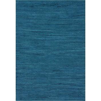 Federal Blue Nuloom Keen Mona Rag Rug Wayfair Rugs Area Green