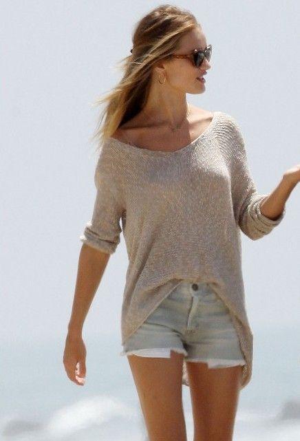 10 stylish Tips to wear Denim CutOff Shorts | Fashion, Style