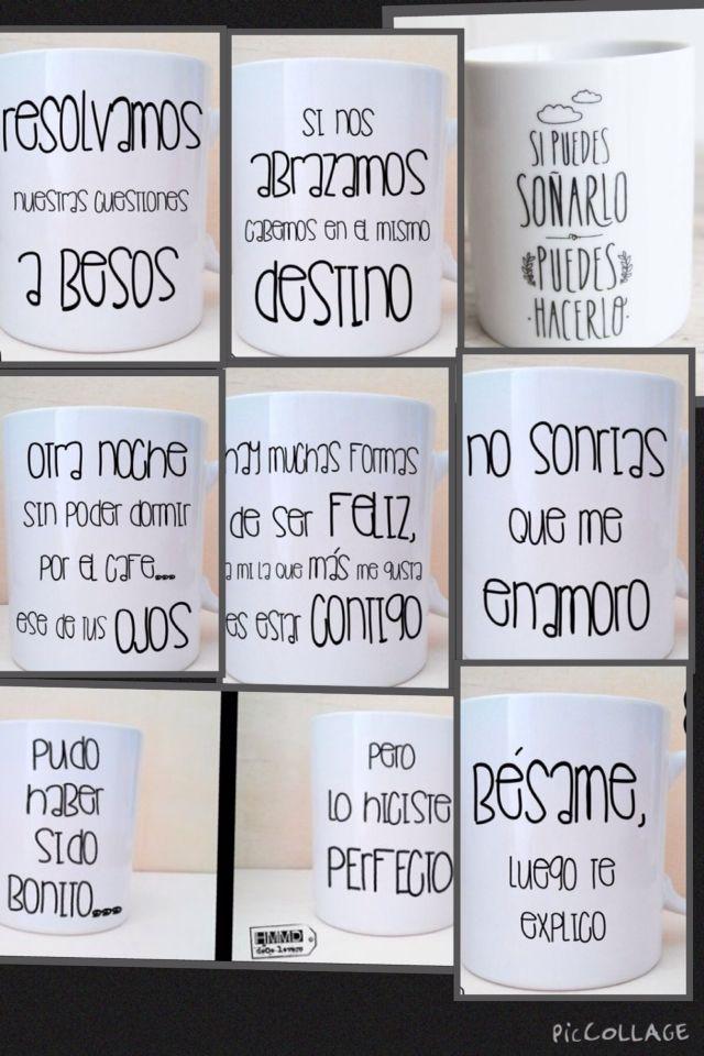 Frases para personalizar tu taza