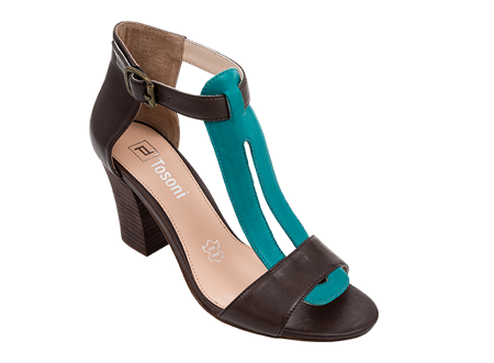 a7c4a0c051f Tosoni at #Spitz - Two-Tone Upfront Block Heel - Women's Shoes #SS14 ...