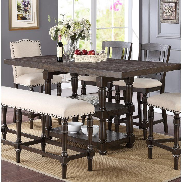 Fortunat Counter Height Extendable Dining Table in 2018 Dining