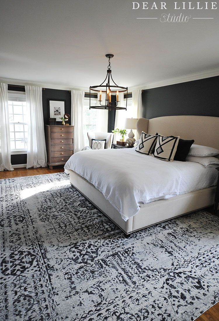 Good morning today  wanted to share the finishing touches that we added our master bedroom moved  small rug up shortly after in also farmhouse style decorating ideas design rh pinterest
