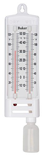 Baker Instruments B6030 Wet Dry Bulb Hygrometer With Nist Calibration Certificate You Can Find Out More Details At Hygrometer Wet And Dry Weather Instruments