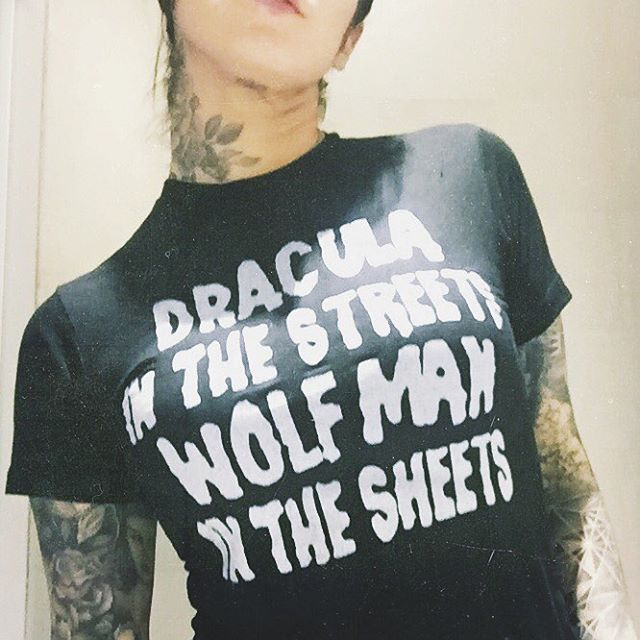 Pinterest: @MagicAndCats ☾ Sweet dreams, London. [shirt: @greatwhitegrizzly]
