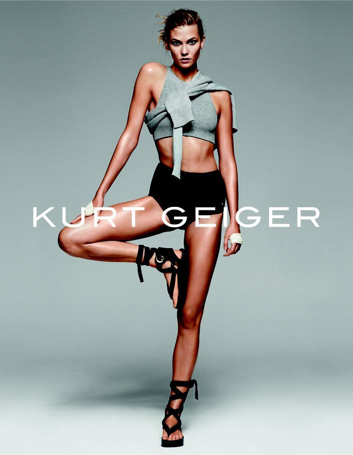 Pin for Later: See All the Best Spring 2016 Campaigns Kurt Geiger Karlie Kloss photographed by Erik Torstensson
