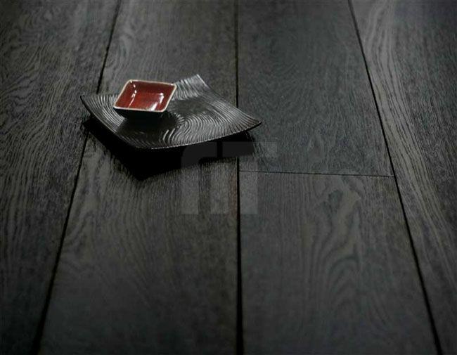 black timber flooring - Google Search
