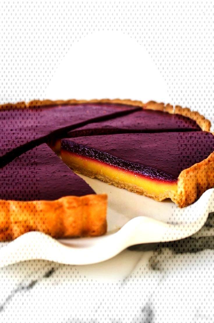 Erstaunliches Blaubeerzitronen-Klumpentörtchen  - Tarts and Pies Recipes Erstaunliches Blaubeerzit