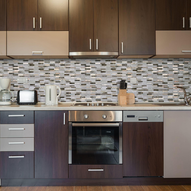- Milenza Genoa Smart Tiles, Mosaic Tiles, Diy Backsplash