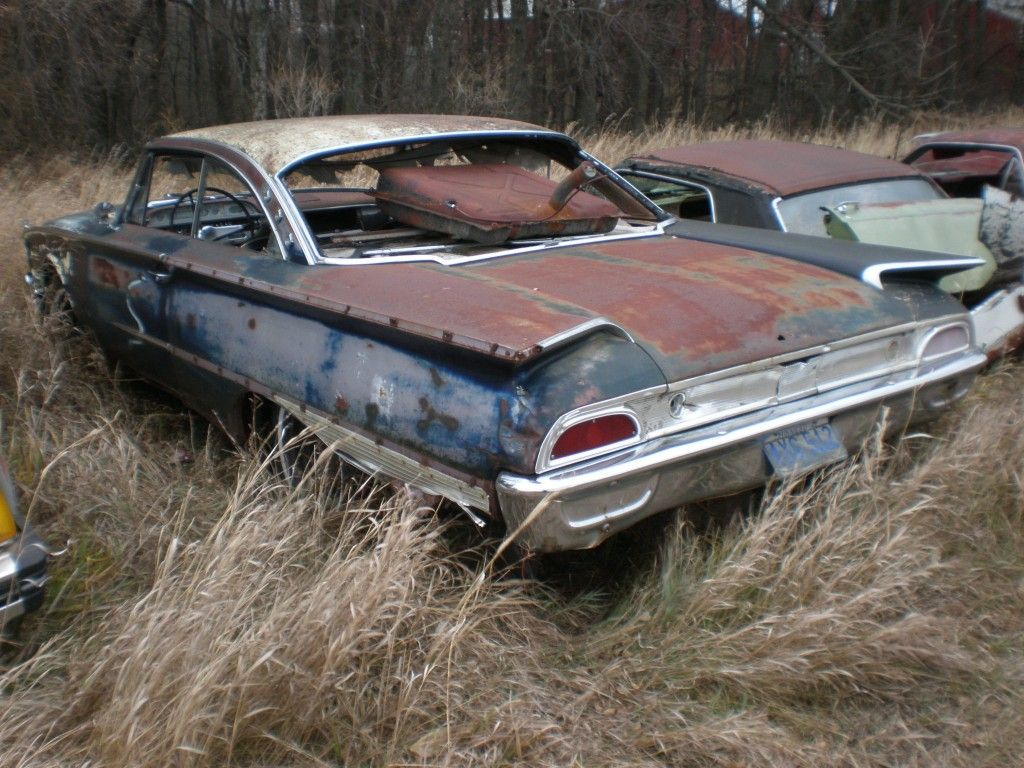 1960 Ford Starliner | Salvage yards | Pinterest | Ford, Cars and ...