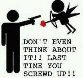 That's right....just keep moving lil love dude...lol