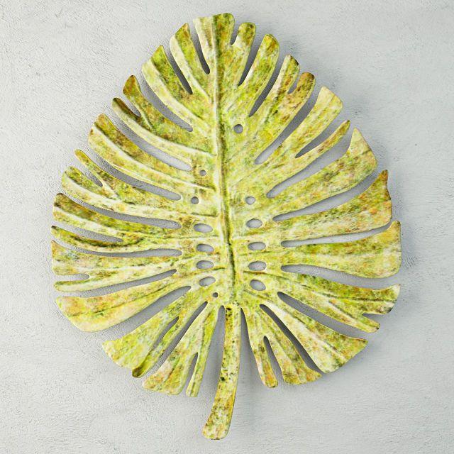 Wall: Interesting Inspiration Metal Leaf Wall Art Copper Deco Fern ...