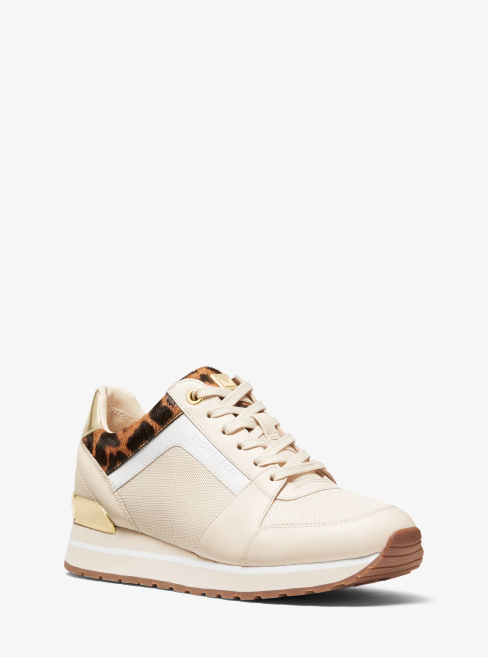 Billie Mixed Media Trainer Michael Kors Trainers Michael Kors Sports Luxe