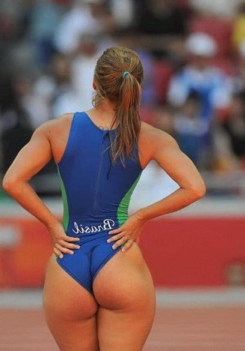 Volleyball player with big ass