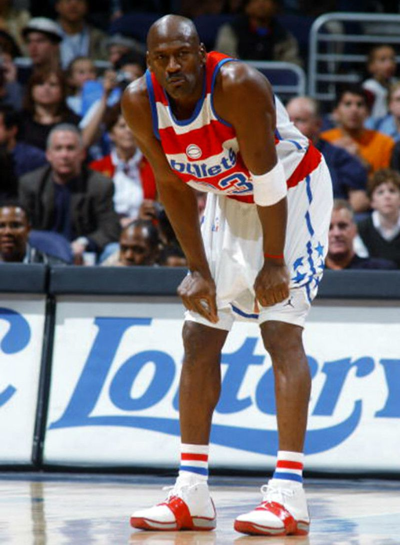 e72e8f1f6d846 Ranking the sneakers Michael Jordan wore during his stint with the Washington  Wizards.