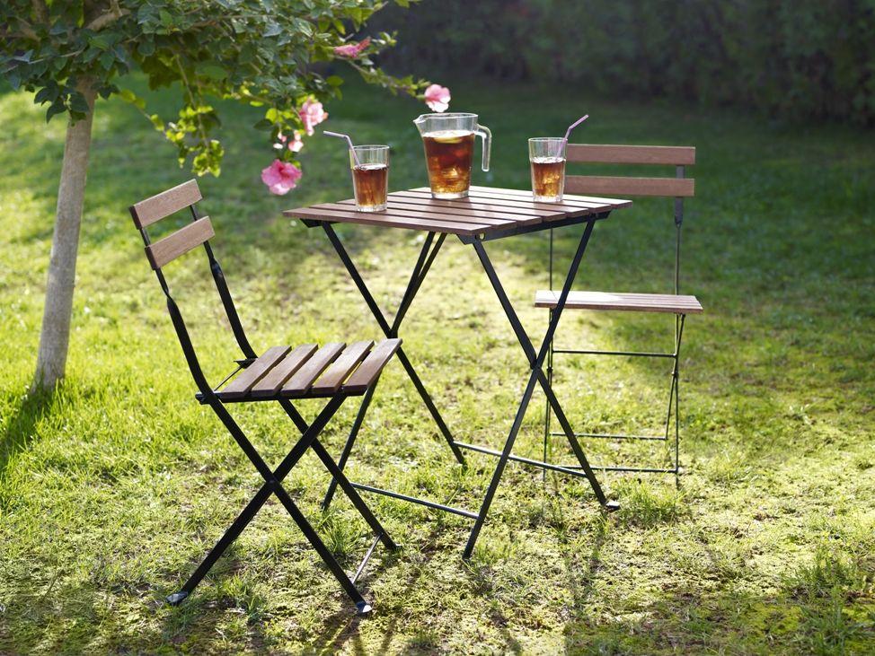 ikea chaises et table pliantes t rn d coration d. Black Bedroom Furniture Sets. Home Design Ideas