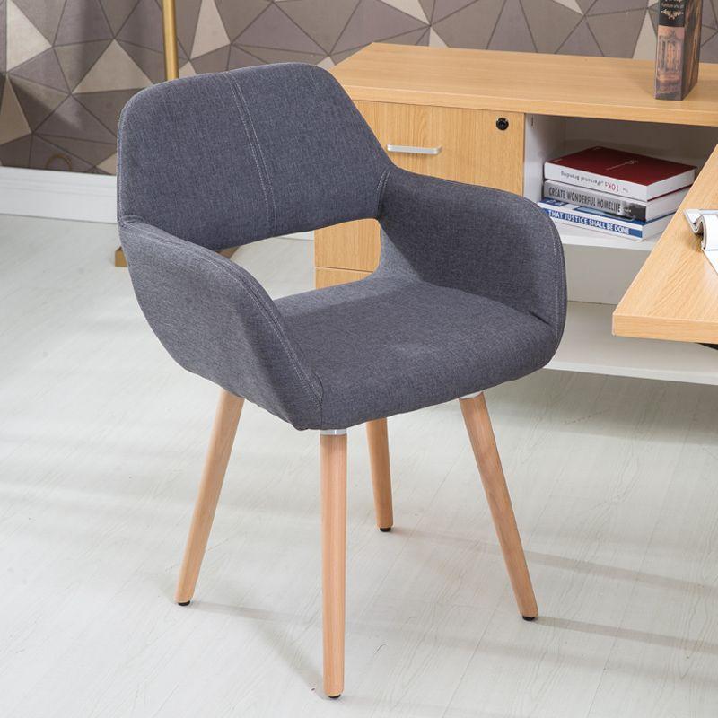 Nordic Litego Drewna Jadalnia Krzeslo Kreatywne Biurko Krzeslo